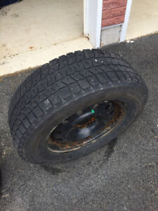 4 winter tire and rims for Pontiac torrent