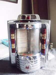 RARE 1963 AMI,METAL JUKEBOX, WALL BOX COMPLETE WITH KEYS