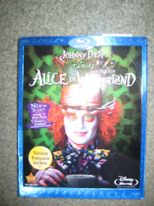 ALICE IN WONDERLAND ON BLUE RAY