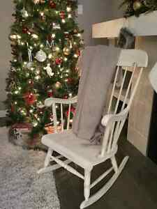 Beautifully restored antiqued rocking Chair