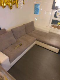 Big corner sofa bed