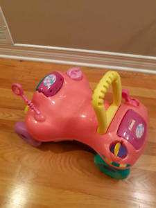 Toddler push and ride toy