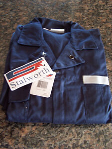 Stalworth Navy Blue Safety Work Wear (overalls)  (Medium Tall)