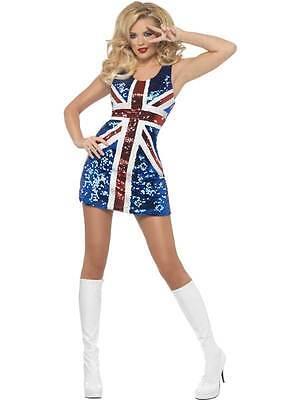 RULE BRITANNIA COSTUME,FANCY DRESS, ST GEORGE'S DAY, LARGE 16-18, - St George's Day Fancy Dress Kostüm