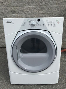 Duo laveuse cabrio top load sécheuse frontale WHIRLPOOL