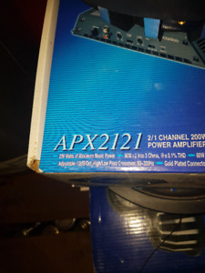 Clarion APX2121 200W 2/1 Channel Power Amplifier