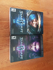 Starcraft II wings of liberty et Heart of the swarm à vendre