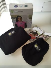 Award Winning BOBA wrap - excellent condition with box, bag and manuals