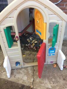 Play house door way