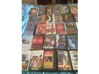 Collection of over 100 big box ex rental vhs videos