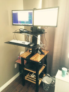 Ergotron Stand Workstation for Dual Displays