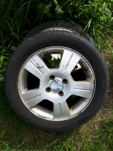 Tires and rims 205/50R16