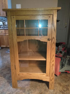 Mission Style Display Cabinet