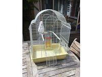 Vintage style Lazy Bones Style Bird Cage