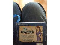 Yas waterworld BOGOF voucher