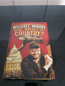 "Michael Moore book "" dude, where's my country"""