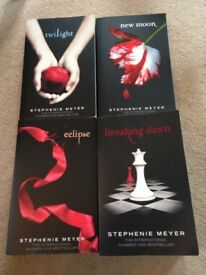 Twilight Saga Book Set