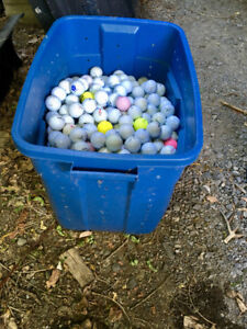 Used Golfballs - 250+ for $40