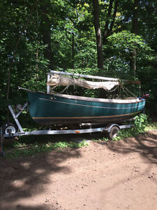 Great deal on a  17ft 2001 Suncat day sailor