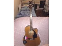 Yamaha FGX412C electro acoustic guitar cheap quick sale look@@!!