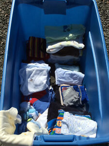 Lot of 0-3 months boys clothing