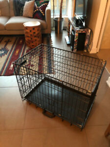 Tuff Crate Wire Kennel + Free Potty Patch