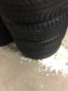 Set of four 225/60/16 winter tires