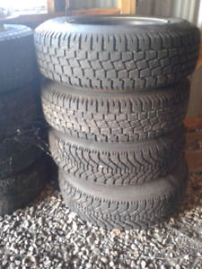 20575/R15 Winter Tires For Sale