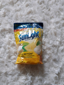 sunlight dishwasher pacs NEW