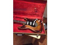 Bacchus Stratocaster Stevie Ray Vaughan SRV made in Japan. Stunning!
