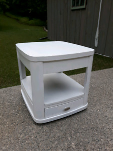 Painted End Table *Delivery Available*