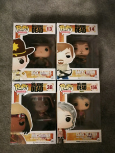 Walking dead funko pops