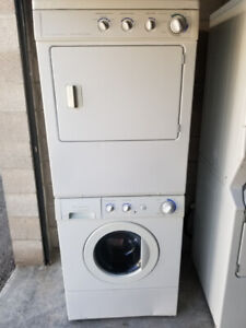 Frigidaire Stacking Front Load Washer Dryer, Huge Water Savers
