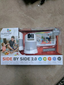 """Summer Infant Side by Side 2.0 5"""" Video Baby Monitor  BRAND NEW"""