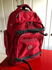 Practical and Lightweight Carry-on Wheeled Backpack