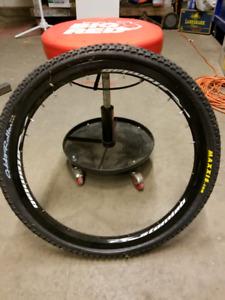 "24"" Atomlab Trail Pimp rim with tire"