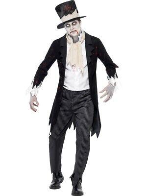 Zombie Bräutigam Hochzeit Kostüm Herren - Zombie Hochzeit Kostüm