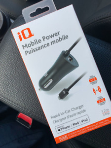 Brand NEW iQ Rapid In-Car iPhone Charger
