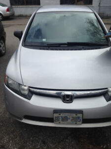 Reliable 2007 Honda Civic in Silver