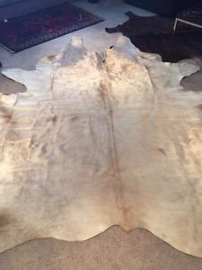 Brand new cow hide rug