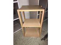 Handmade Storage Shelf in Oak