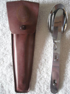 vintage camping cutlery set - Boy Scouts