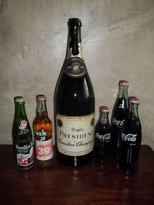 Vintage Champagne Magnum & Unopened Pop bottles Kitchener / Waterloo Kitchener Area image 1