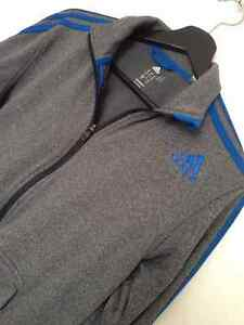 Adidas Sweater Grey and Blue Climawarm Kitchener / Waterloo Kitchener Area image 4