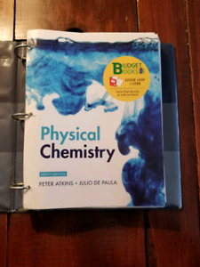 Physical Chemistry ninth edition by Atkins