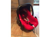 Maxi cosi pebble car seat & canopy cover