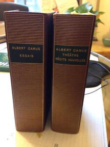 Livres Oeuvres complètes A. Camus (2 tomes)