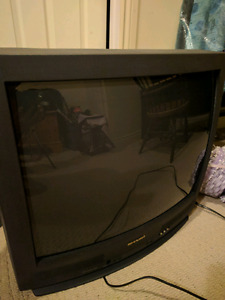 """27"""" sharp tv with remote."""