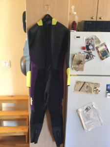 Wetsuits and drysuit