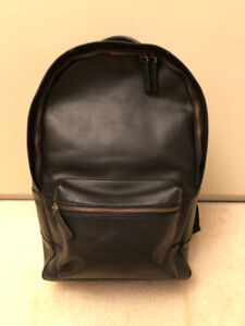 Men's Leather Backpack - Fossil